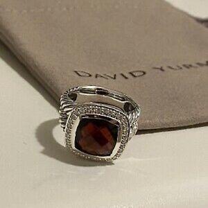 David Yurman 11mm Garnet Albion Ring